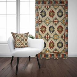 Османский турецкий винтажный геометрический этнический дизайн 3D принт гостиная спальня оконная панель занавес комбинированный подарок на...