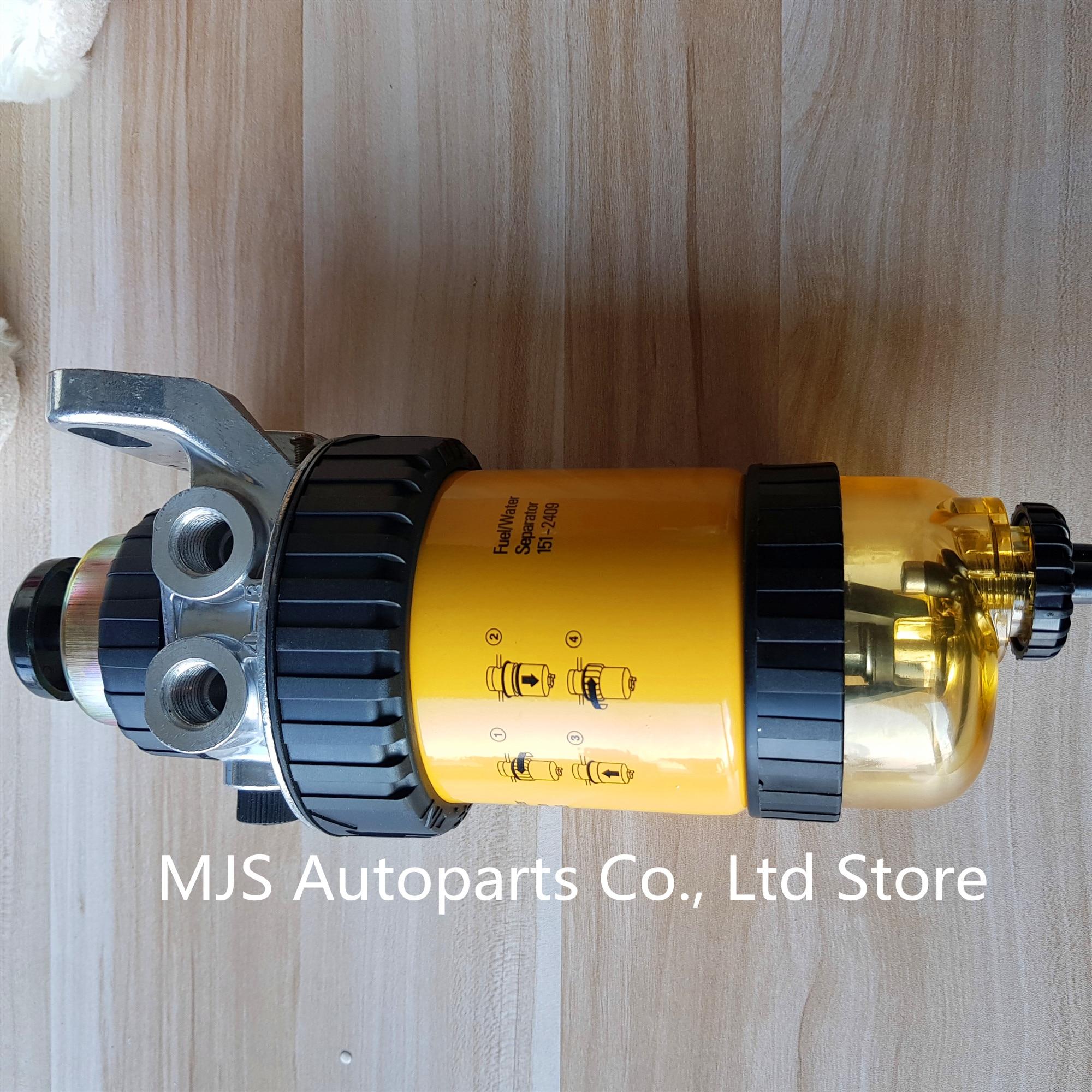 Original 1512409 Fuel Filter Assembly Diesel Engine Water Fuel Separator  Element Filter for CAT FS19612 P550570 MANN WK8111|Fuel Filters| -  AliExpresswww.aliexpress.com