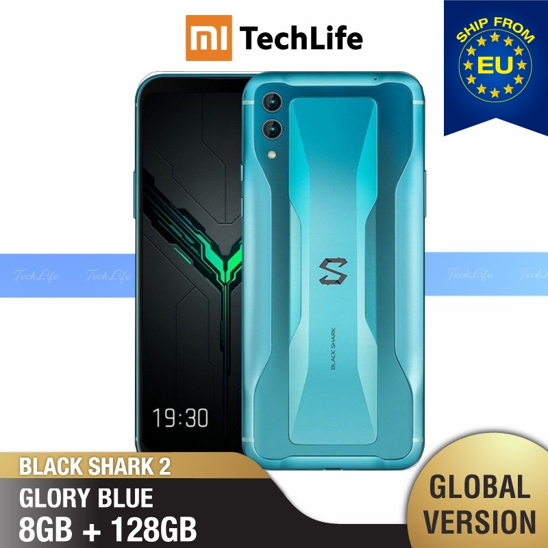 Global Version Xiaomi Black Shark 2 128GB ROM 8GB RAM Gaming Phone (Brand New/Sealed) Blackshark2, Blackshark Smartphone Mobile
