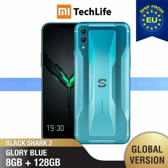 Глобальная Версия Xiaomi Black Shark 2 128 Гб rom 8 Гб ram Игровой телефон (абсолютно новая/герметичная) black shark 2, blackshark2, blackshark Мобильный смартфон, телефон, смартфон