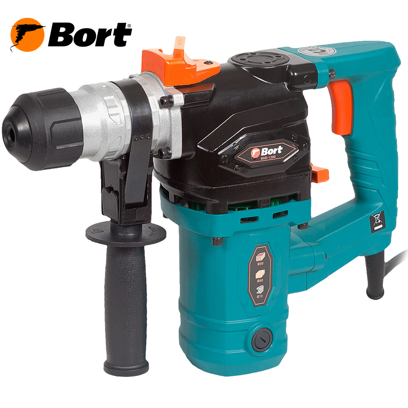 Electric rotary hammer Bort BHD-1200 (Power 1100 W, energy cob 5 j SDS + cartridge) цены онлайн