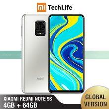 Versão global xiaomi Redmi Note 9S redmi note 9s 4gb ram 64gb rom (novo/selado) redminote9s, redmi, nota, 9s smartphone móvel
