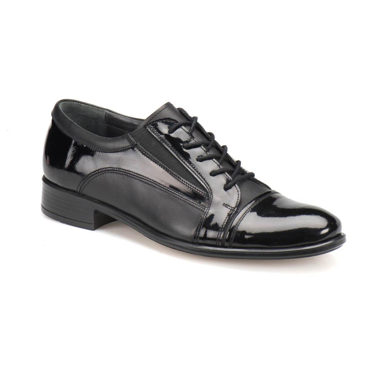 FLO 301 Black Men 'S Classic Shoes Garamond