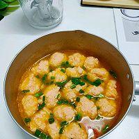 番茄鲜虾丸子汤的做法图解9
