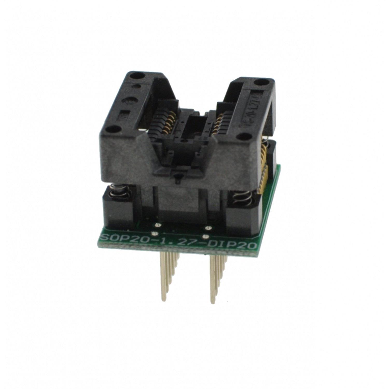 Programmer socket SOP16 to DIP16 MOD-200MIL est7502c dip16