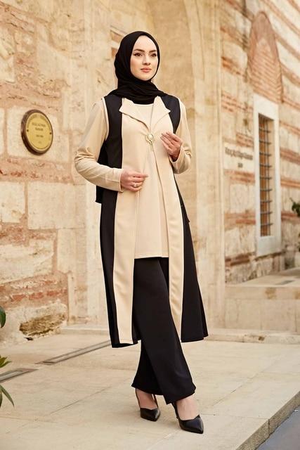 Kaftan 3 pieces Fashion Dress Sets Ensemble 2