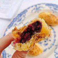 简单版紫薯酥的做法图解12