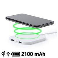 Bezprzewodowa ładowarka Qi do smartfonów 2100 mAh USB 145764 w Ładowarki do tabletów od Komputer i biuro na