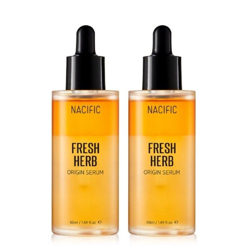 Nacific Official [Korea NO.1 Facial Serum] - Fresh Herb Origin Serum [1+1] (Skin Care, Korea Cosmetic)