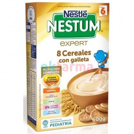 Nestum Expert 8 Cereals With Cookie 600 GR