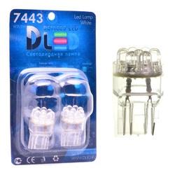 1 lámpara LED de coche W21/5W - T20-7443-w3auth16q-9-Dip-Led
