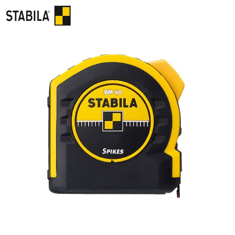 STABILA Roulette BM40 5 m x 25mm Magnetic hook Portable Retractable Ruler measuring tools tape measure pro skit dk 2040 3m tpr durable blade measuring tape w magnetic end hood black