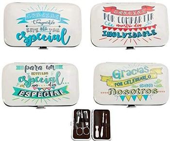 """Set de manicura con """"frases"""" - Detalles de recuerdos y regalos para bodas... comuniones baratos originales invitados"""