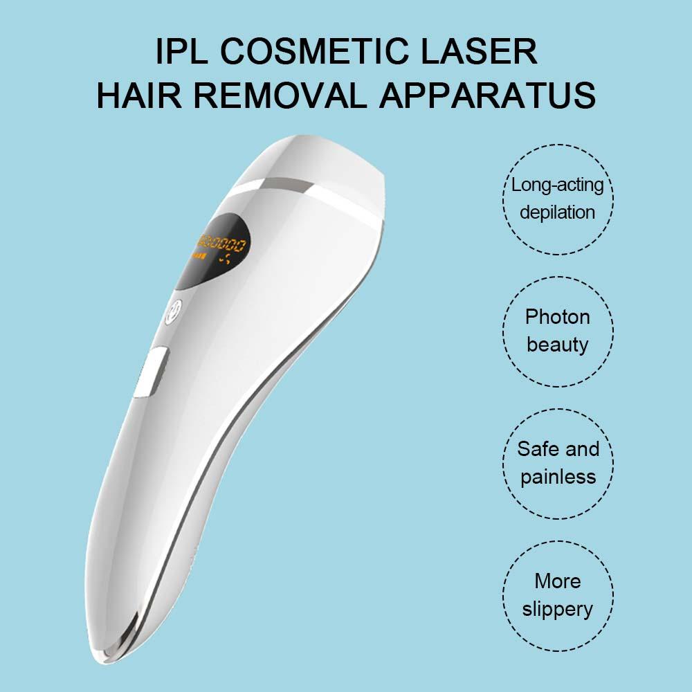 600000 Flash IPL Laser Epilator Face Body Permanent Painless Hair Removal Device Laser Hair Remover Device For Bikini Depilador