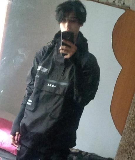 Harajuku Dark Cargo Jacket photo review