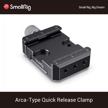 SmallRig Arca-Type Quick Release Clamp for DJI Ronin S/Ronin SC/ZHIYUN Crane Series/Weebill S Gimbals Vlog Shooting Plate -2506 aluminium camera quick release plate offset for bmpcc 4k ronin s zhiyun crane 2 3 stabilizer handheld gimbal mount plate board