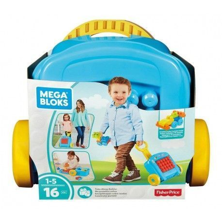 Fisher Price Briefcase With Wheels Fits Blocks
