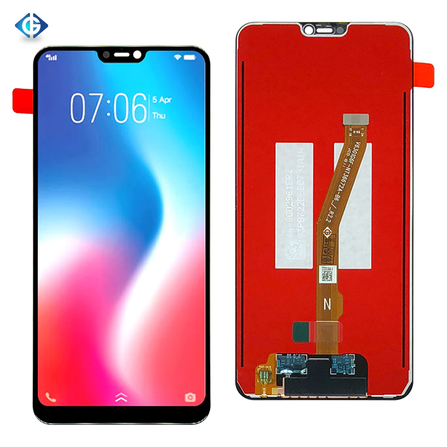 Black Digital Mobile Phone Replacement//Replace LCD Screen Color : Black Touch Screen and Digitizer Full Assembly for Vivo Y3