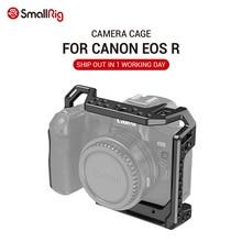 Smallrigカメラケージキヤノンeos rとコールドシューマウント穴マジックアームマイク添付 2803