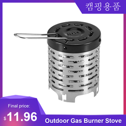 Outdoor Portable Gases Heater Warmer Stoves Heating Cover Outdoor Warmer Propane Butane Tent Heater Camping gas burner Stove