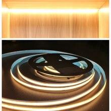 Светодиодная подсветка под шкаф cob полоски no dark для кухни