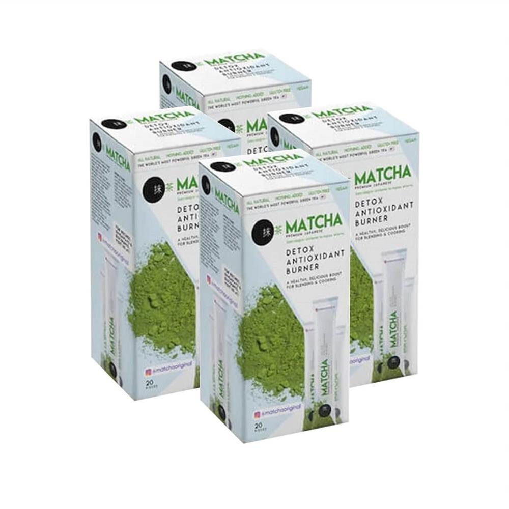 Matcha Life Slim Tea Mixed Herbal Original Weight Loss Seeds 30pcs Slimming Products Pure Naturel Organic Oil Blocker Thin
