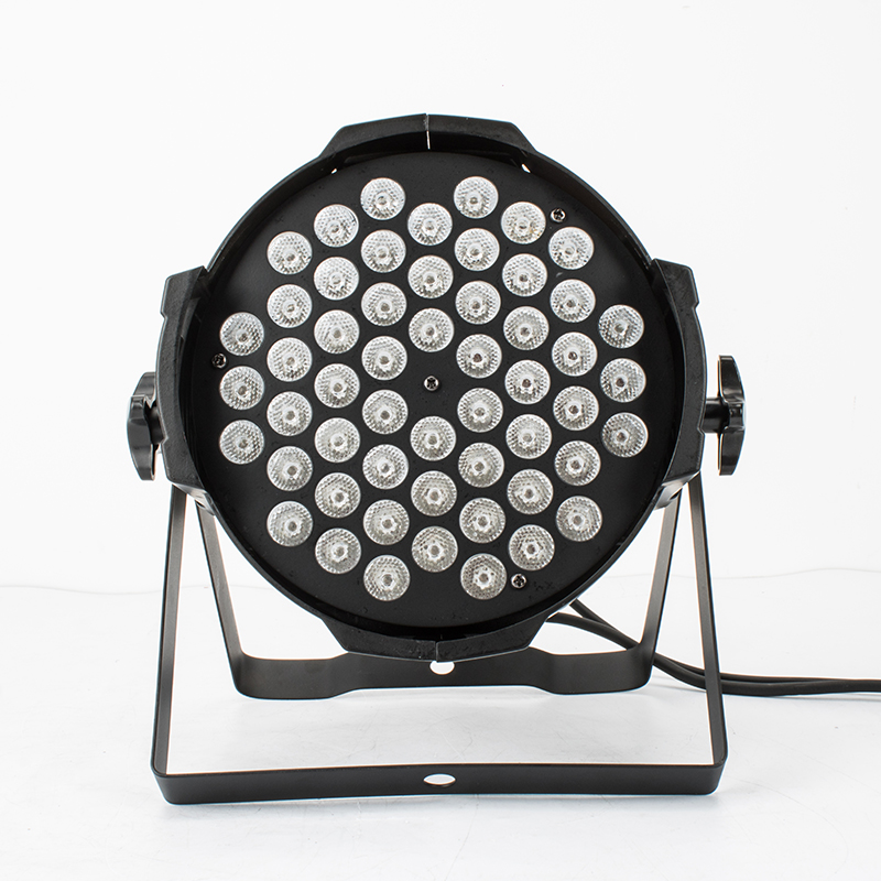 Aluminum Alloy LED Par 54x9W RGB Windmill Lighting Can Par LED Spotlight Dj Projector Wash Lighting Stage Lighting