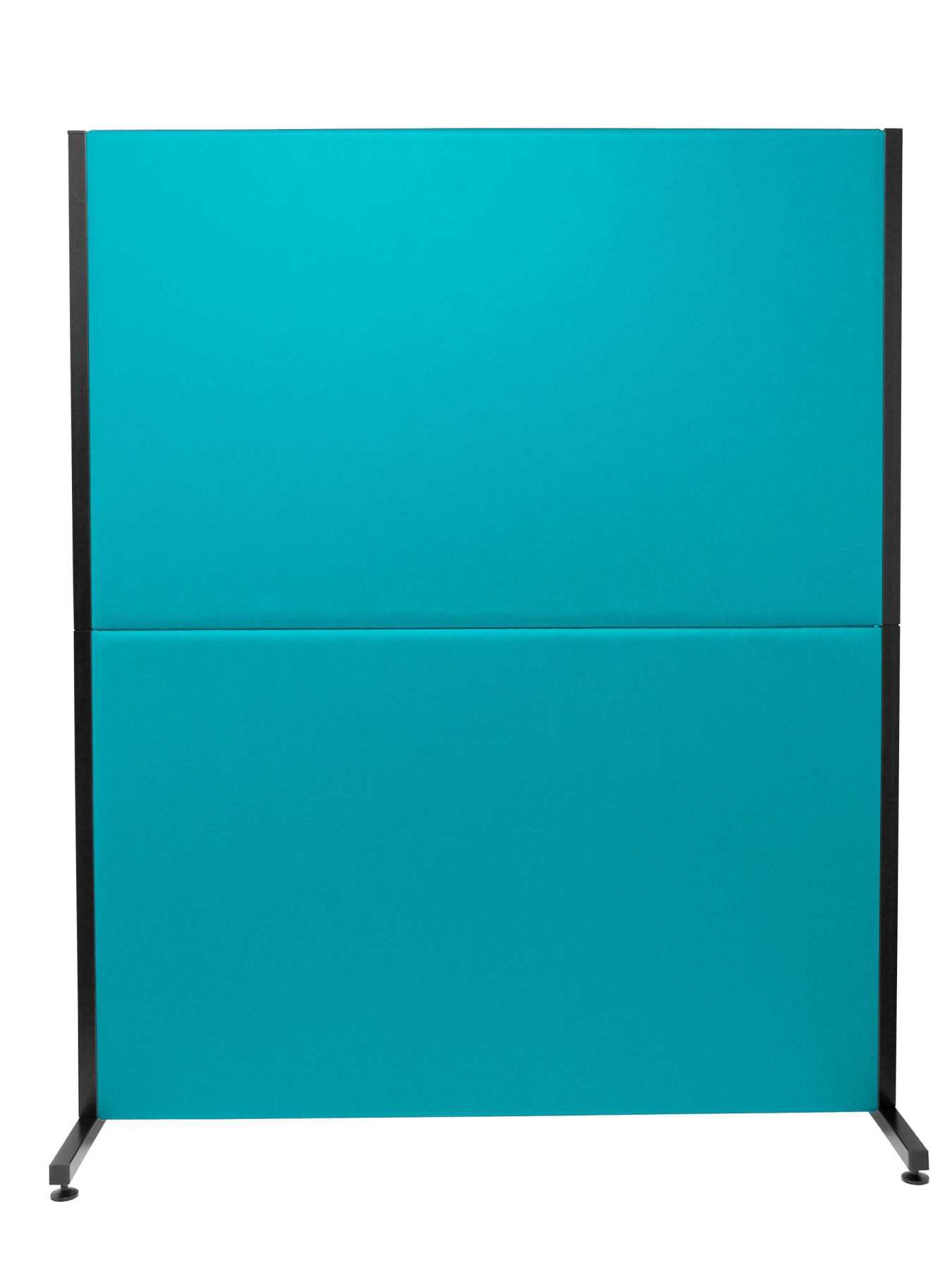 Room divider screen for offices and work centres  detachable and with color structure black Upholstered in similpiel|Furniture Accessories| |  - title=