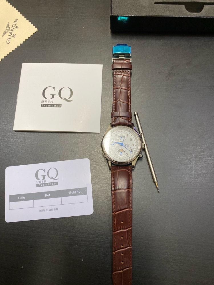 -- Guanqin Automático Relógios