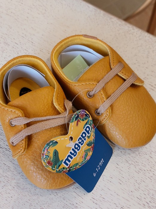 New Baby Shoes Retro Leather Boy Girl Shoes Multicolor Toddler Rubber Sole Anti-slip First Walkers Infant Newborn Moccasins photo review