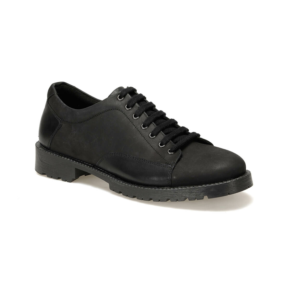 FLO 912 C 19 Black Male Shoes Forester