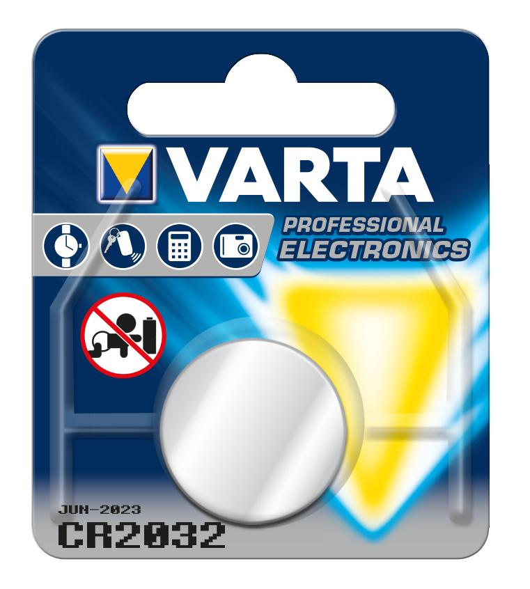 Lithium Button Cell Battery Varta CR 2032 3 V|Button Cell Batteries| |  - title=