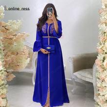 Bbonlinedress платье с поясом и вышивкой бисером марокканское
