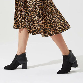 FLO PITA85Z SUEDE Black Women Boots BUTIGO