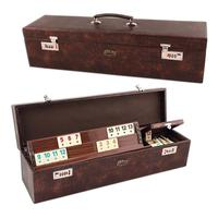 Wooden and Plastic options  Rummy Set  Joker For Israel Fast Moving Rummy Tile Classic Board Game 2-4 People Israel Mahjong