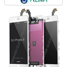 Pantalla Completa para iPhone 6 Blanca Tactil Digitalizador + LCD + Marco Blanco + Cristal Templado Calidad AAA+ Envio 24h
