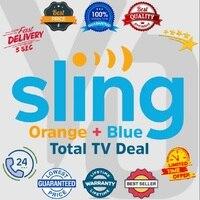 SlingTV Orange + Blue Account , Lifetime Warranty, Instant Delivery
