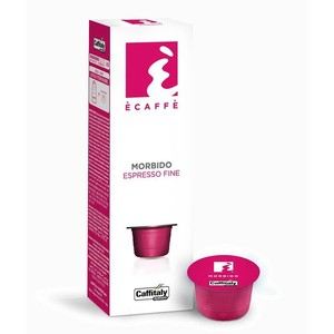 Caffitaly Morbido, espresso fine, 10 coffee capsules from the brand Ècaffè