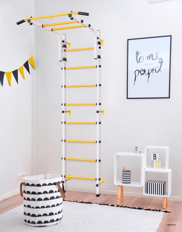 Sports Gym For Kids, Ladder For Children, шведская Wall For Children Children's круглик 2.0 White