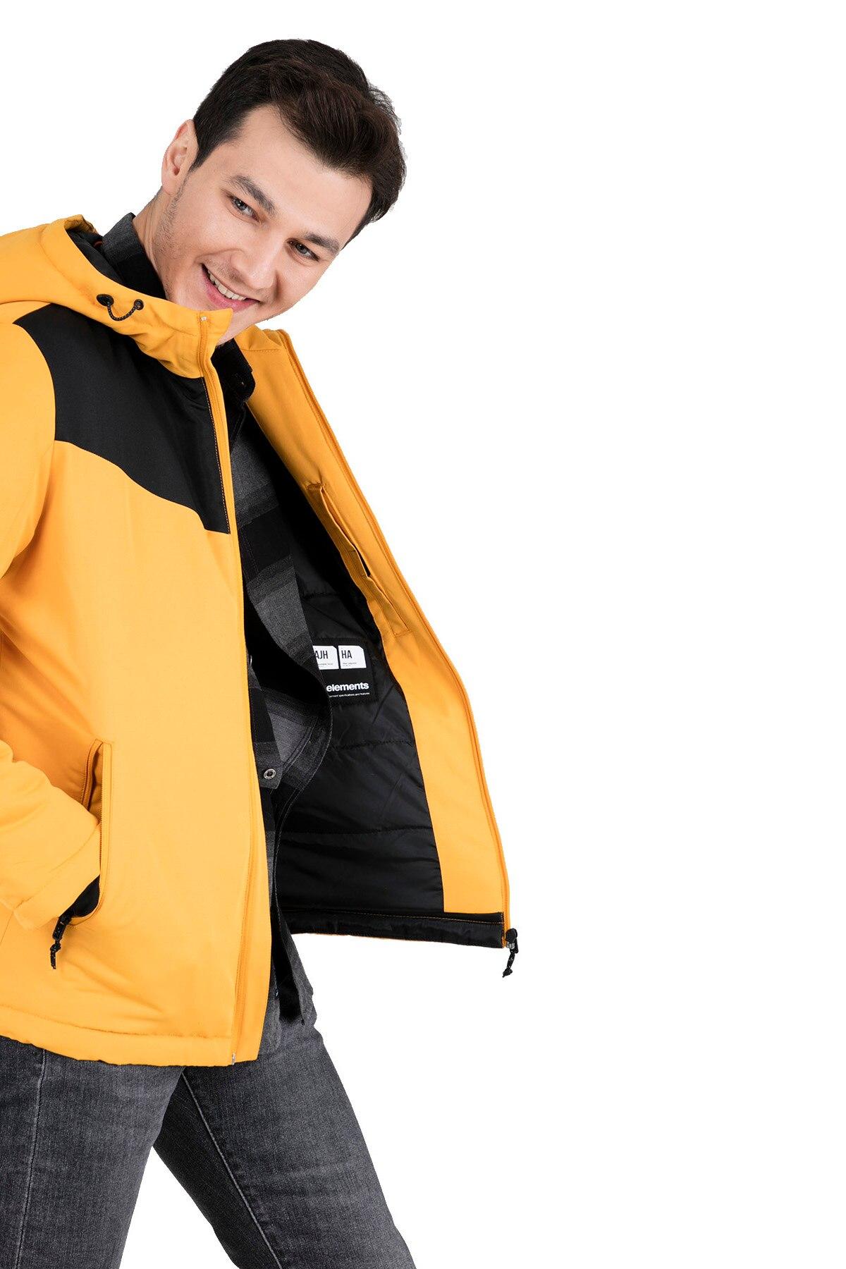 Jack /& Jones Core Jacket Mens Polyester Down Hooded Winter Coat Jcobarkley