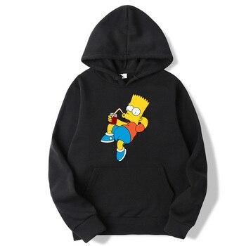 2020 New Hoodie The Simpsons sweatshirt  1