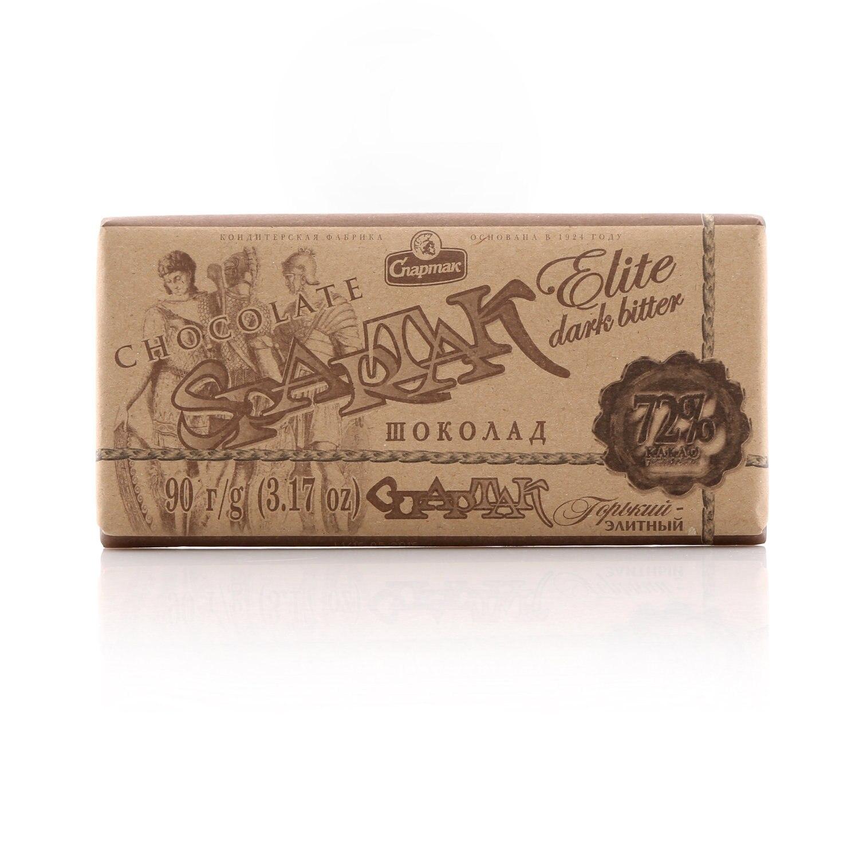Шоколад горький 72% Элитный ТМ Спартак|Шоколадные и шоколадные батончики|   | АлиЭкспресс