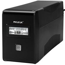 Phasak PH 9485 850 VA, 480 W, Interactive (UPS), UPS, STABILIZER, 2 AC outputs, Software connection