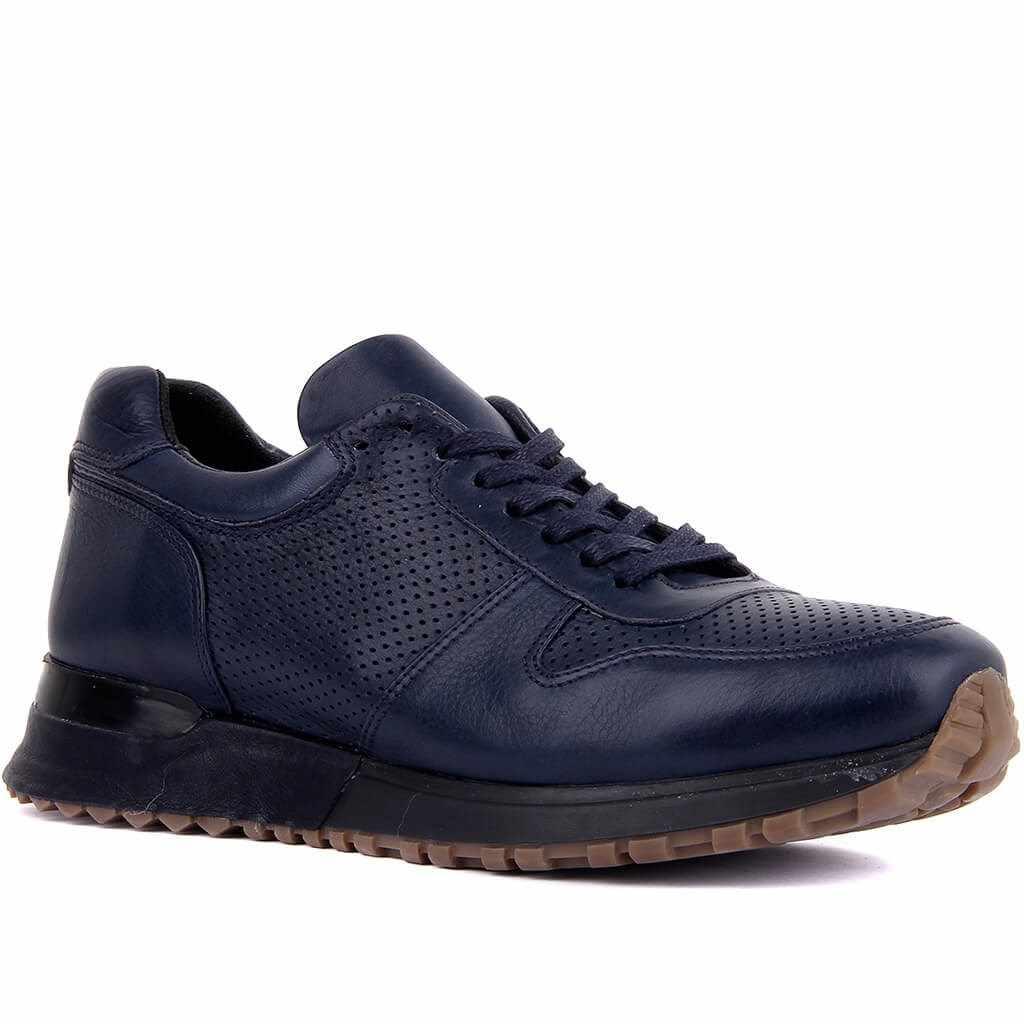 מפרש לייקרס-אמיתי עור גברים Sneaker מקרית ספורט נעלי שרוכים шнурки זכר נעליים נוח לנשימה הליכה חיצוני tenis Masculino zapatos דה hombre кроссовки мужские