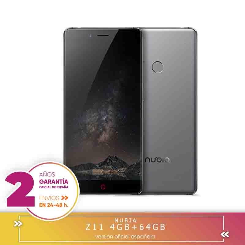 -Garantie carrée-ZTE Nubia Z11 NX531J 5.5 pouces Smartphone aRC 2.0 Corning Gorilla écran en verre 4 go dur 64 go dur Snapdragon 820