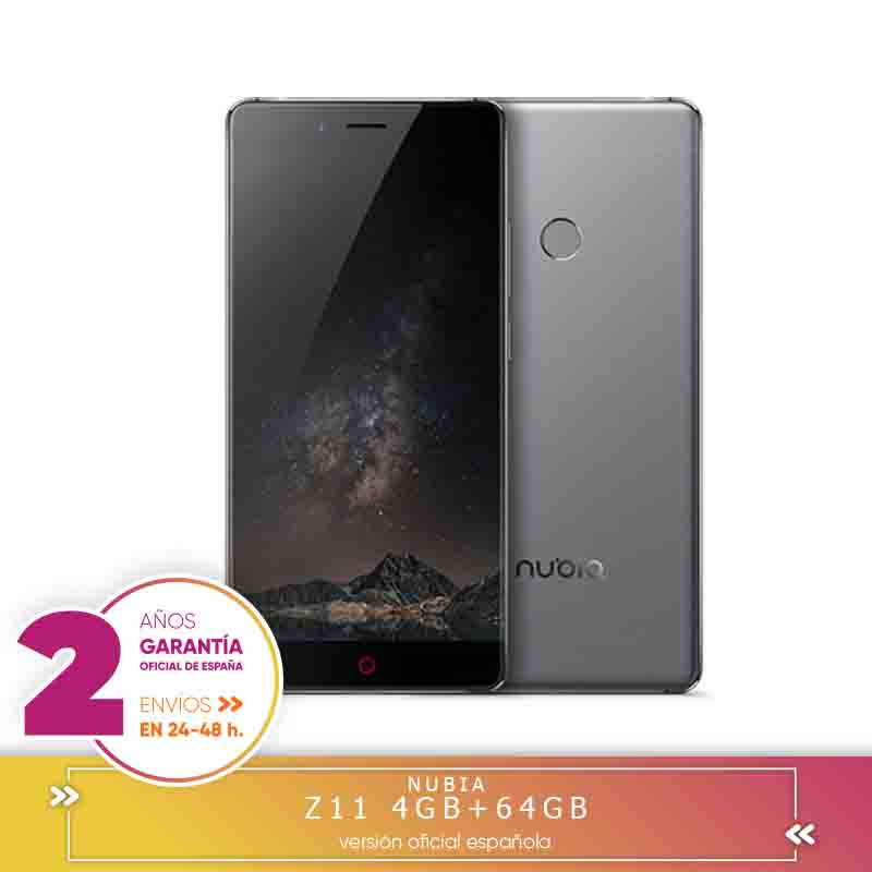 -Square Warranty-ZTE Nubia Z11 NX531J 5.5 Inch Smartphone ARC 2.0 Corning Gorilla Glass Screen 4 Hard GB 64 Hard GB Snapdragon 820