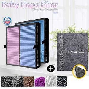 Очиститель воздуха Nikken Air Health Power5 Pro, совместимый многофункциональный комбинированный детский фильтр и серебристый ионный защитный фильтр