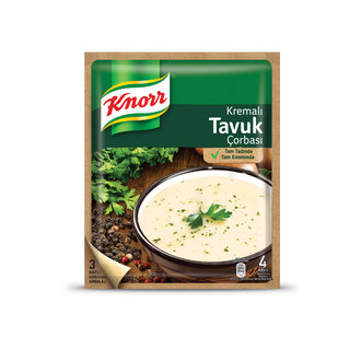 Knorr Ready Soup Cream Chicken 65 Gr | Traditional Soups Turkey | Great Tastes | Instant Soup | Quality Brand Knorr|Tureens|   - title=