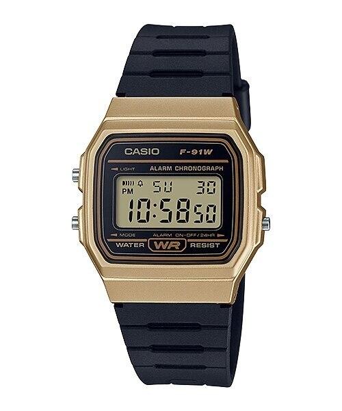 Casio Collection Unisex Adults Watch 100% Original  Digital Watch Quartz Water Resist Classic Resin Strap Sport Watch F-91WM