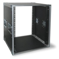 Rack 19 Fonestar for sound equipments and lighting will, sturdy building, black finish
